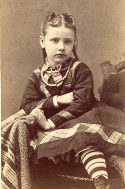 1876 Photo of Jesse Belle Healy 